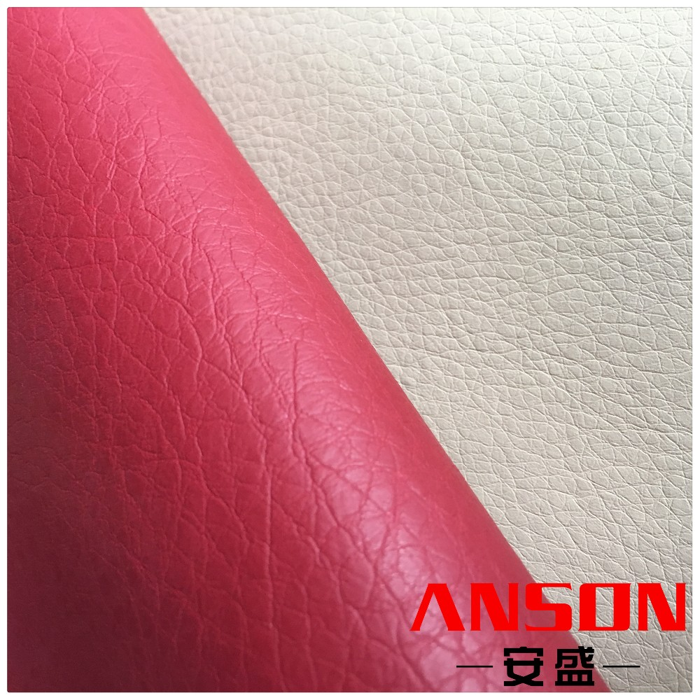100% pu synthetic leather for sofa&chair with AR107 design