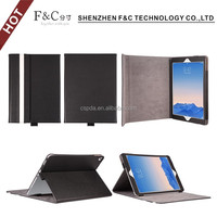 Side-opening folio standing smart cover 11.6 inch tablet pc leather keyboard case for any device