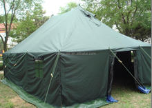 refugee tent PVC coating 6x4m military tent