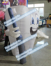 Event/party/giant/custom inflatable tooth replica -1.7M tall