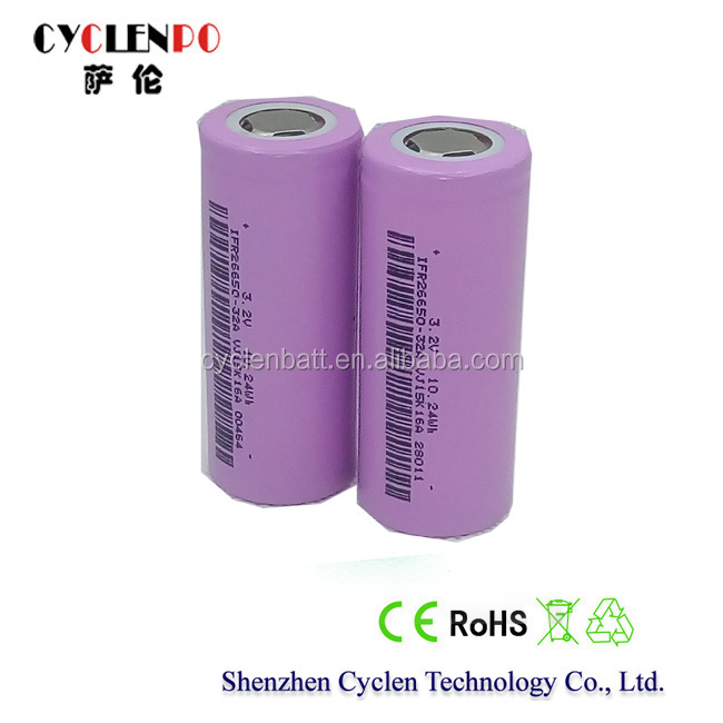 lithium iron phosphate battery 3.2V 3000mah battery li ion battery