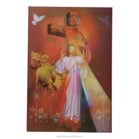 Factory wholesale 3D pictures of jesus christ