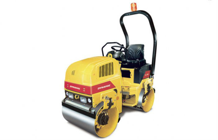 DYNAPAC VIBRATORY DOUBLE DRUM ROLLER FOR ASPHALT AND SOIL COMPACTION CC900