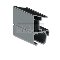Ada Slider Aluminum Curtain Rail For