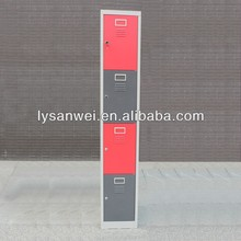customized colour 4 compartment cloth metal locker