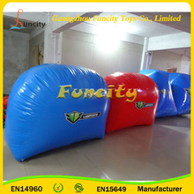 Commercial Inflatable Paintball Shooting Range , Paintball Laser Tag Bunkers , Mobile Laser Tag