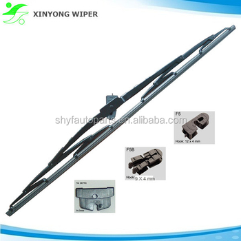 "20"" Steel Frame Windshield Wiper Blade For Heavy Duty DAF F55"