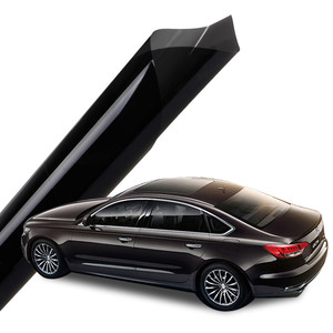 Heat insulation UV400 car window film tinting glue solar control self-adhesive clear plastic film VLT15% skin protection film