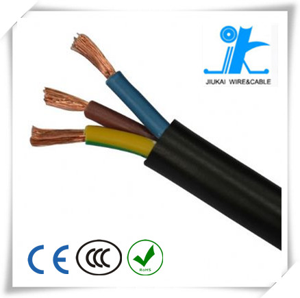 High quality China manufacturer Factory price CE VDE Approved Europe H03VV-F H05VV-F H05V2V2-F H03V2V2-F v-90 pvc cable
