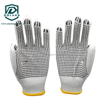 View larger image safety string knitted cotton work gloves cheap price cotton gloves,pvc dotted cotton safety knitted work glov