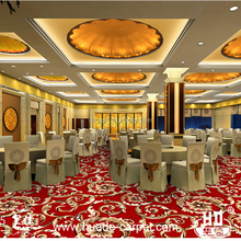 Factory price used in hotel restaurant wilton carpet