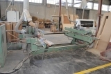 Scm Italy Auto. Double-End-Tenoner machinery wood machine