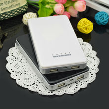 travel small size mobile power bank 10000mah for phone and tablet pc