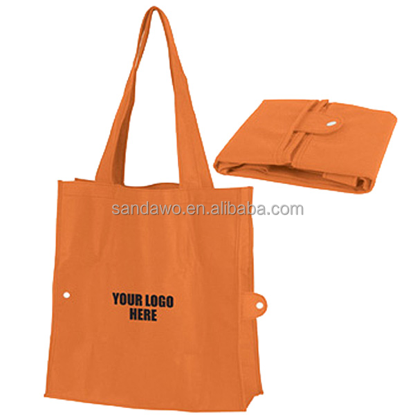 BV verified flower printing foldable shopping bag