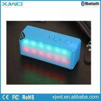 Colorful Light Wireless Bluetooth Speaker with Microphone