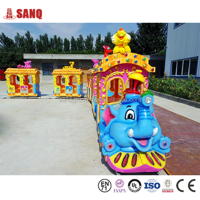 2016 SANQGROUP Indoor & Outdoor Family Game Rides indoor trackless train