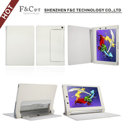 Factory price pu leather case cover for 2014 Lenovo Yoga 2 8 inch tablet