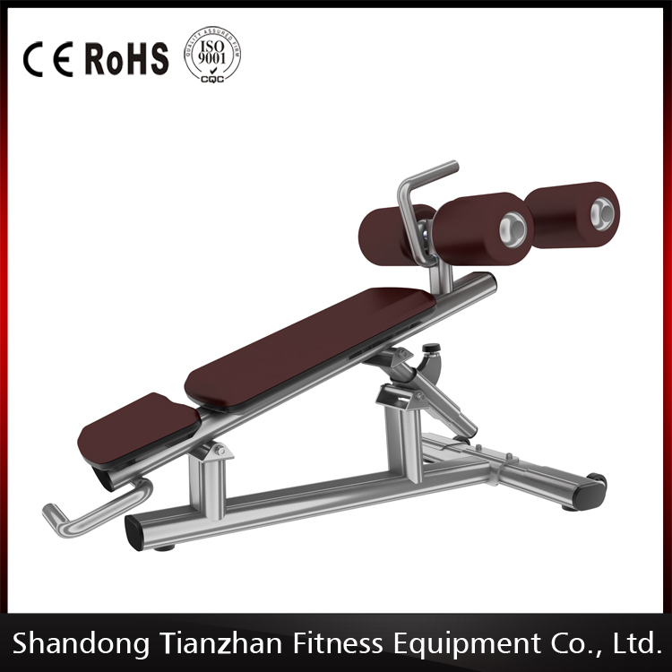 2016 new design and best quality TZ Adjustable abdomimal Bench