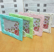 6 7 10 inch rectangle shape fashion photo frame For Couples Wedding Party Decorations Souvenirs