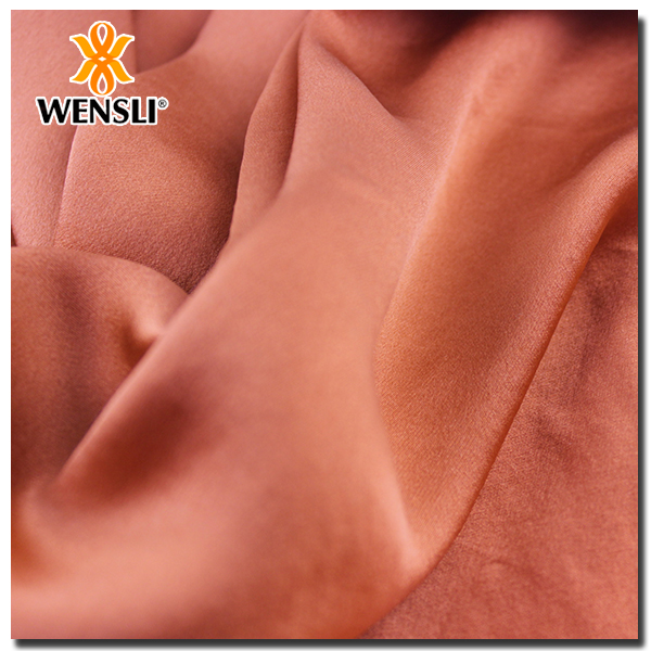 Fabric Textile Wholesale China Factory 100% Silk Satin Fabric Muslim Dress