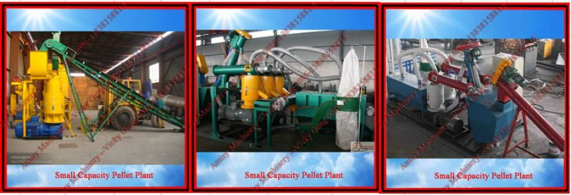 0.2-1t/h Wood Pellet Making Line / Mobile Biopellet Making Line (0086-13838158815)
