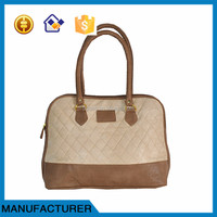 New Design PU leather lady handbag manufacturers women bag