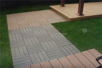 anti-scratch and moistureproof recycled outside wpc decking composite wood tiles plastic mould for concrete tiles