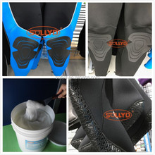 Diving suits Screen Printing pvc plasitsol ink for diving suits printing on fabric adhesive
