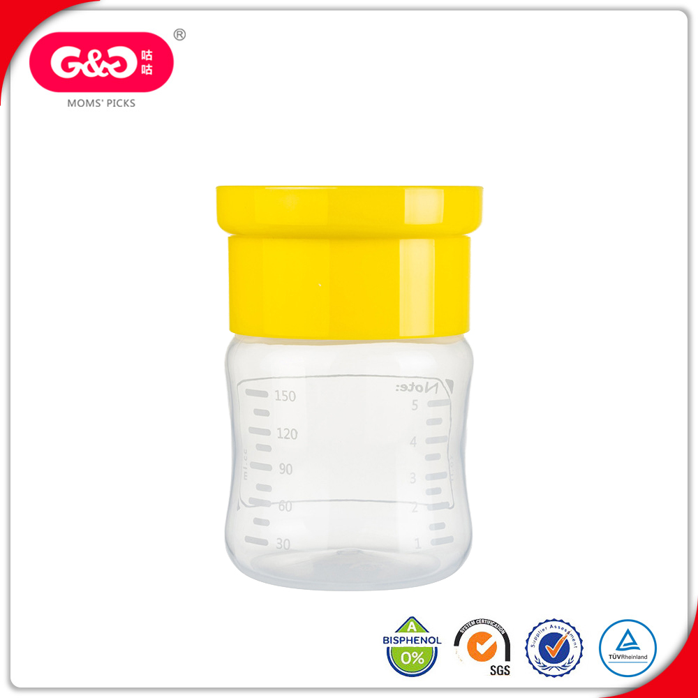 Food Grade Safety Breast Milk Collector Storage