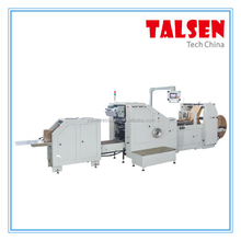 FDM-200 Paper Bag making machine make square bottom bag width from 80mm-200mm