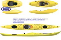 Professional Hot selling plastic rotomolded kayak made in China 2 person kayak sale with CE certificate