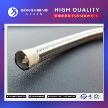 High pressure teflon stainless braided hose/ptfe