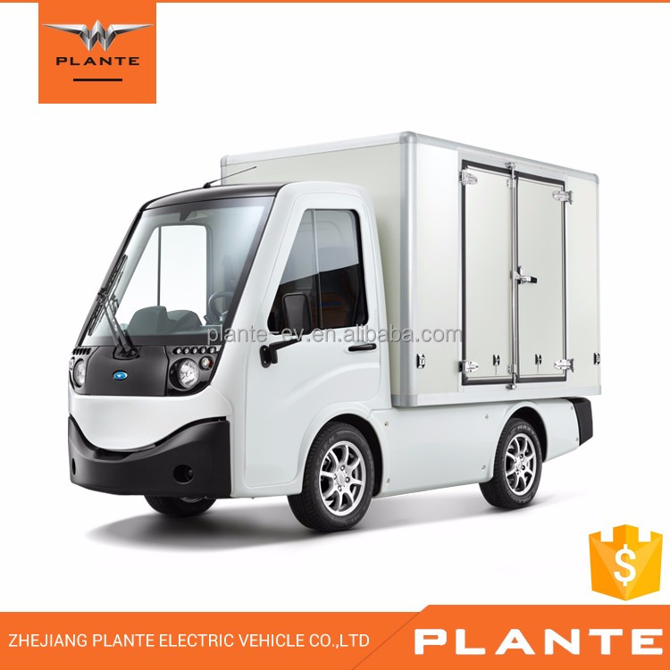 2017 Plante METRO-VAN BOX, professional electric cargo van, new energy EV into logistics fleets