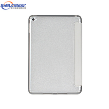 Wholesale new design TPU PU flip cases for iPad mini 4