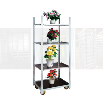 transport flower trolley flower carts wholesale danish plant trolley
