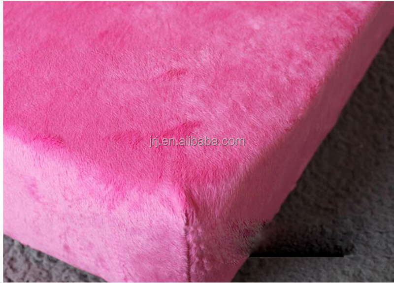 polyester crib sheet over-soft pile cloth sheet