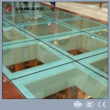 anti slip flooring glass/laminated glass with PVB film