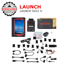 Best Price Auto Scanner Launch X431 V 8.0 inch touch screen autologic diagnostic tool with More than 100 car software