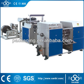 BT-300*2 Automatic Double lines without core garbage bag making machine