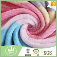 China Manufacturer 100% Polyester Printed Coral Fleece Fabric
