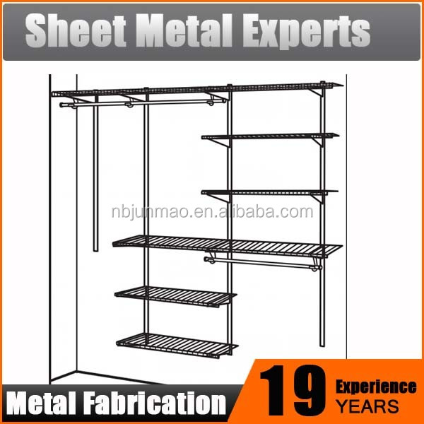 Ideal storage solution for clothes Metal diy portable closet wardrobe