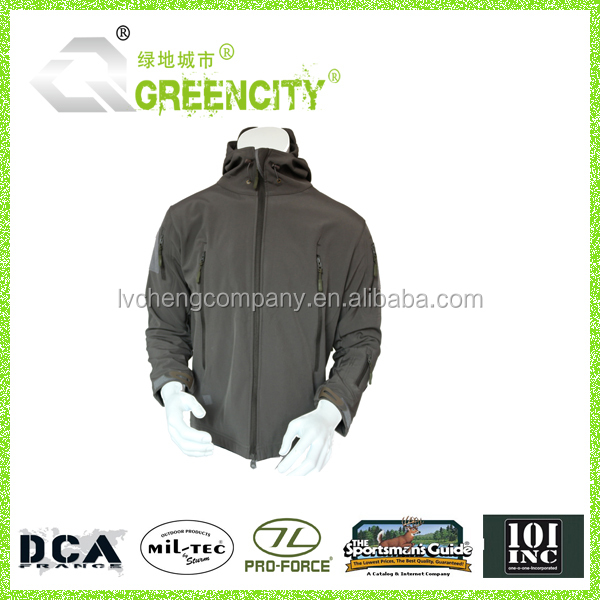 Military Soft Jacket for Army accept small order