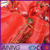 pp mesh bag plastic onion/fruit mesh bag 50*80cm packing vegetable