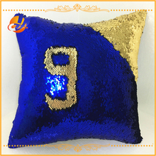 2 Colour Changing Mermaid Pillows Christmas Throw Cushion with Reversible Sequins