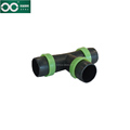 Agricultural T-branch Lock Ring Tee for Irrigation Micro Spray Tape