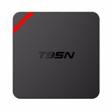 2016 newest metal ! smart tv box android 5.1 KODI 16.0 Amlogic S905 1g ott tv box T95N mini mx plus tv box