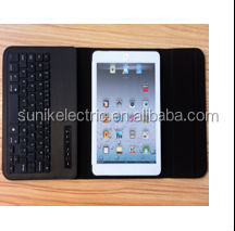 Popular & hot for ipad mini keyboard with leather case