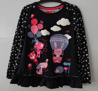 Hot selling cute children boutique clothing manufactuers wholesale