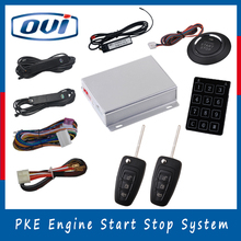 Car alarm system remote starter keyless entry 12v pke engine start stop system electronic car immobilizer