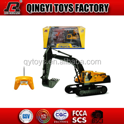 HOT!! RC Car Model 1:28 8 channels rc excavator with best quanlity